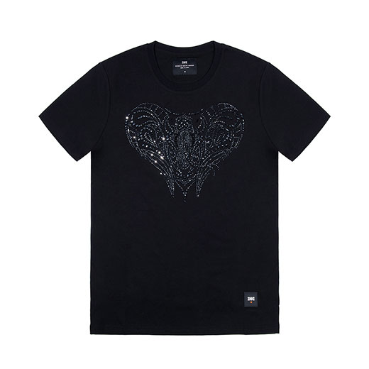 BLACK MAMBA CRYSTALS FROM PRECIOSA TEE
